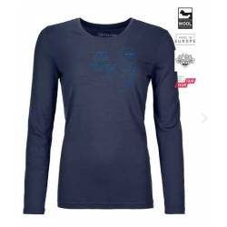 120 COMP LIGHT LONG SLEEVE W Sottomaglia m/l Donna